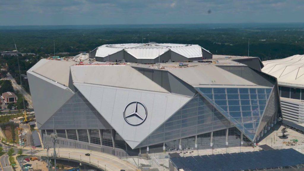 Super bowl 2019 amy 39 s vip events for Will call mercedes benz stadium